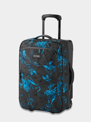 Dakine Carry On Roller 42L Suitcase (cyan scribble)