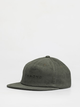 Diamond Supply Co. Leeway Unstructured Snapback ZD Cap (army)