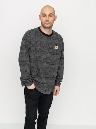 Quiksilver Heritage Printed Sweatshirt (black tonal heritage)