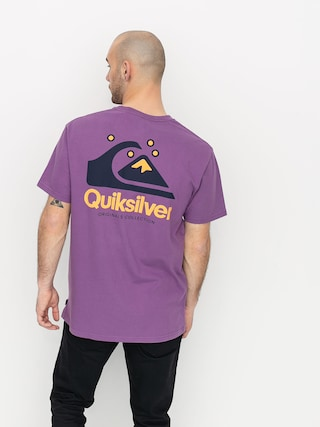 Quiksilver Og Quik Original T-shirt (crushed grape)