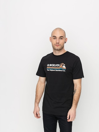 Quiksilver Stone Cold Classic T-shirt (black)
