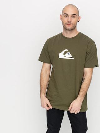 Quiksilver Comp Logo T-shirt (kalamata)