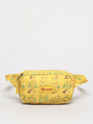 Brixton Gate Bum bag (yellow)
