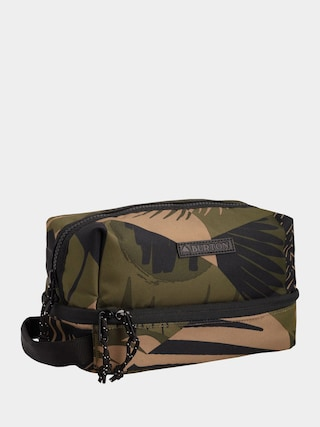 Burton Low Maintenance Kit Cosmetic bag (martini olive woodcut palm)