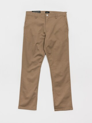 RVCA The Weekend Stretch Pants (dark khaki)