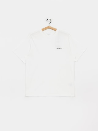 Carhartt WIP Script Embroidery T-shirt (white/black)