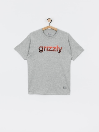 Grizzly Griptape X Champion Lowercase Fadeaway T-shirt (grey heather)