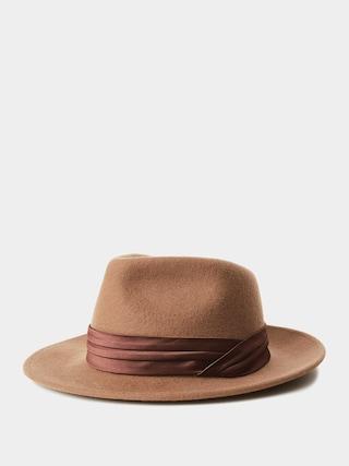 Brixton Goodman Fedora Hat (camel)