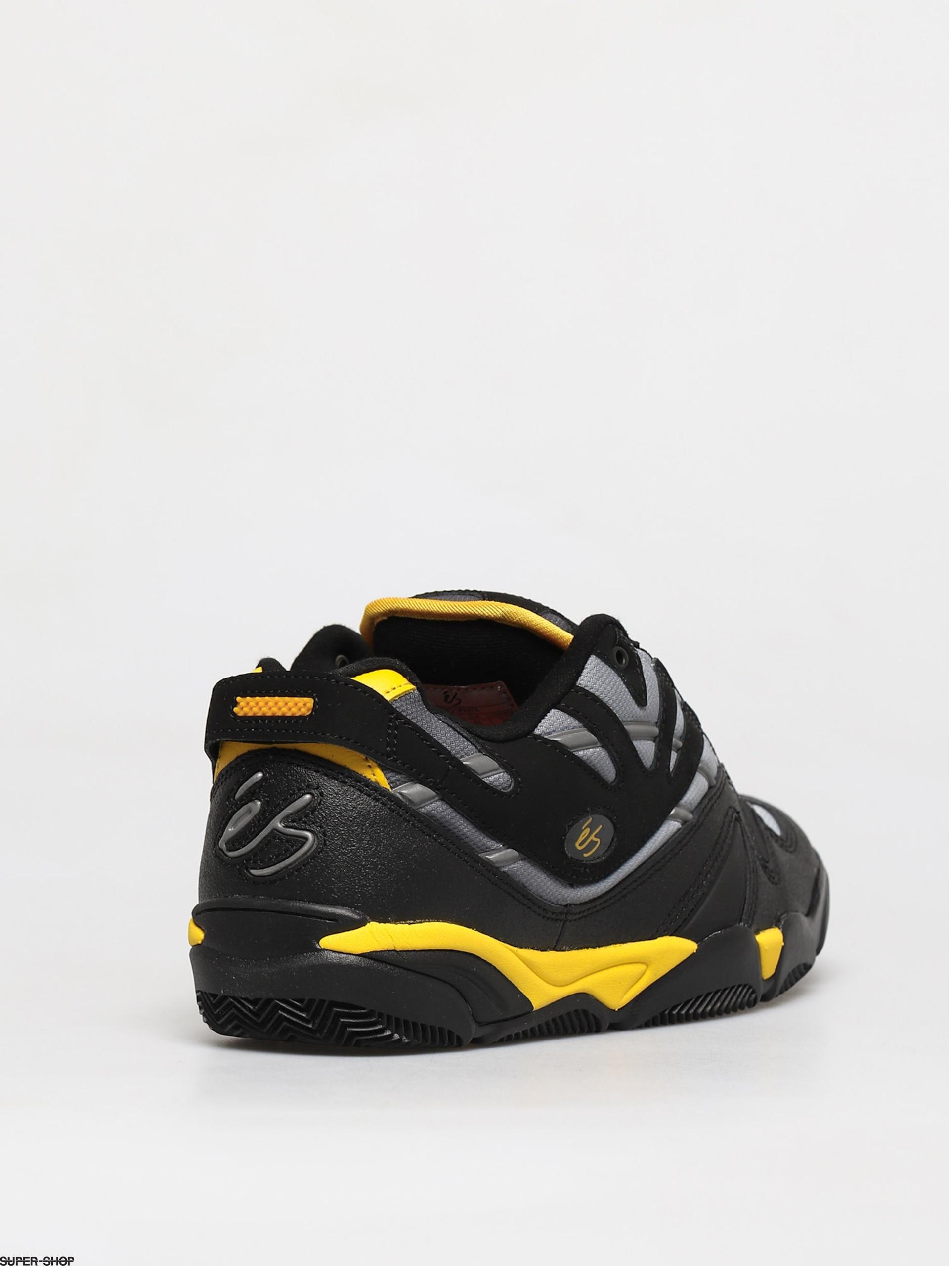 Black eS Sparta Shoes Yellow