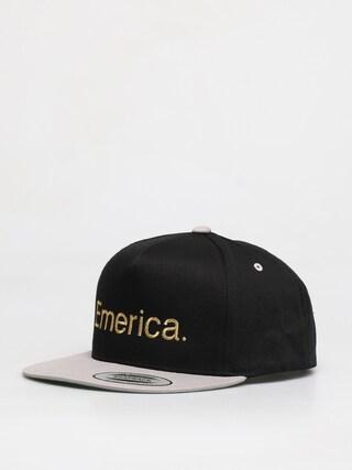 Emerica Pure Snapback ZD Cap (black/silver)