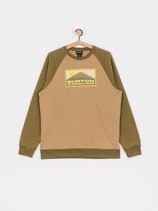 Burton Weir Crew Sweatshirt (kelp)