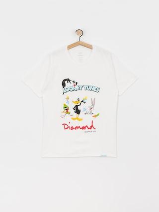 Diamond Supply Co. Looney Tunes T-shirt (white)