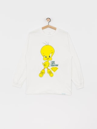 Diamond Supply Co. Puddy Tat Longsleeve (white)