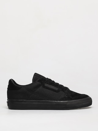 adidas Originals Continental Vulc Shoes (cblack/cblack/ftwwht)