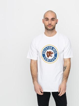 Brixton Forte Stt T-shirt (white/brown)