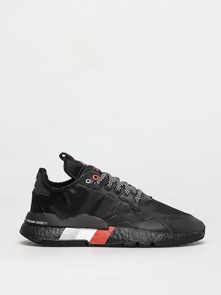 adidas Originals Nite Jogger Shoes (cblack/cblack/silvmt)