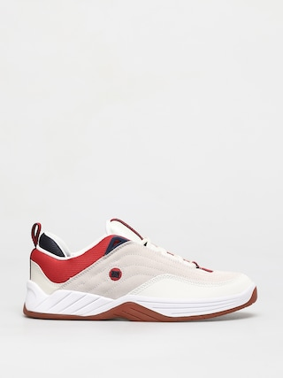 DC Williams Slim S Shoes (white/navy/red)