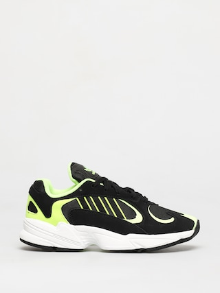 adidas Originals Yung 1 Shoes (core black/core black/hi res yellow)