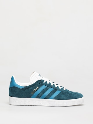 adidas Originals Gazelle Shoes Wmn (tech mineral/active teal/ftwr white)