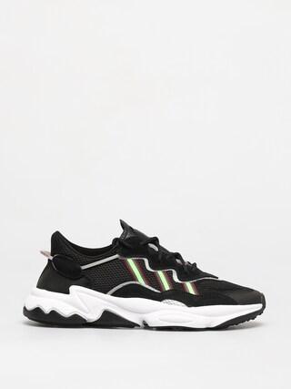 adidas Originals Ozweego Shoes (core black/solar green/onix)