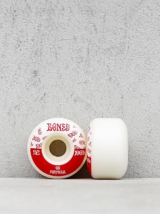Bones 100#13 Wide Formula V4 Wheels (white/red)