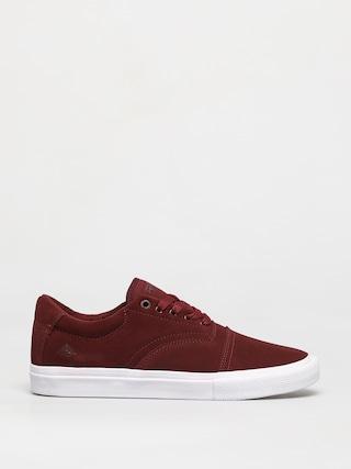 Emerica Provider Shoes (burgundy/white)