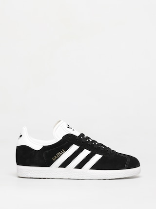 adidas Originals Gazelle Shoes (cblack/white/goldmt)
