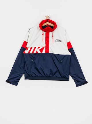 Nike SB Anorak Jacket (midnight navy/white/university red/white)