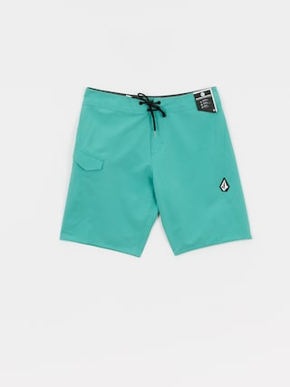 Volcom Lido Solid Mod Boardshorts (mysto green)