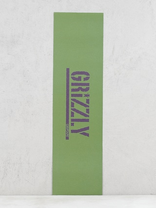 Grizzly Griptape Stamp Necessities Grip (olive green/plum)
