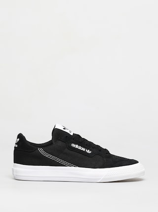 adidas Originals Continental Vulc Shoes (cblack/ftwwht/cblack)