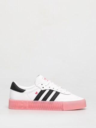 adidas Originals Sambarose Shoes Wmn (ftwwht/cblack/glopnk)