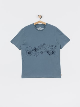 Volcom Pangea Seed Fa T-shirt (stormy blue)
