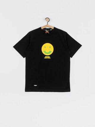MassDnm Smile T-shirt (black)