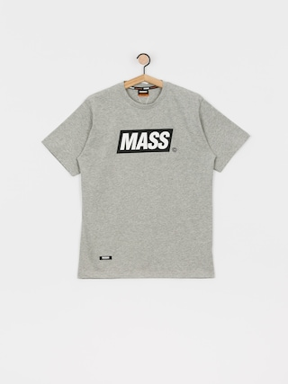 MassDnm Big Box T-shirt (light heather grey)