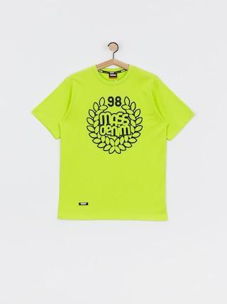 MassDnm Base T-shirt (toxic yellow)