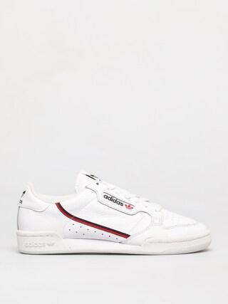 adidas Originals Continental 80 Shoes (ftwwht/scarle/conavy)