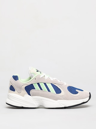 adidas Originals Yung 1 Shoes (ftwr white/glow green/collegiate royal)