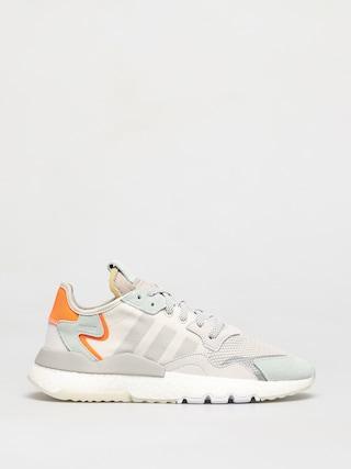 adidas Originals Nite Jogger Shoes (rawwht/greone/vapgrn)