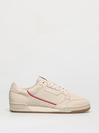 adidas Originals Continental 80 Shoes (cbrown/scarle/ecrtin)