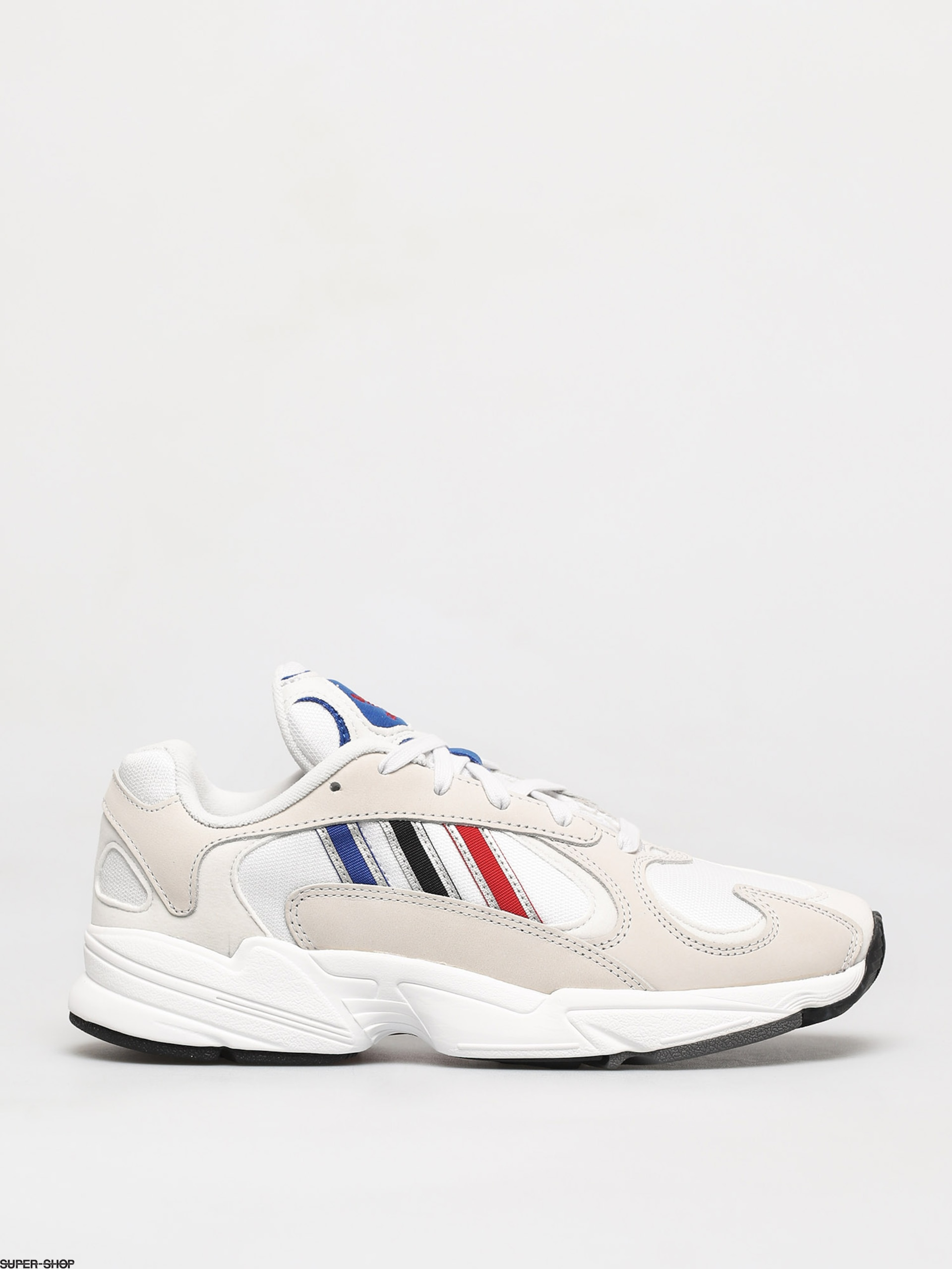 adidas Originals Yung-1 Shoes (crystal white/silver met/core black)