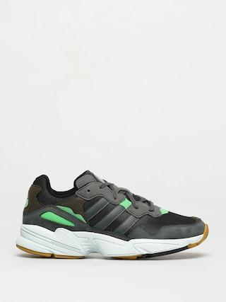 adidas Originals Yung 96 Shoes (cblack/legivy/rawoch)