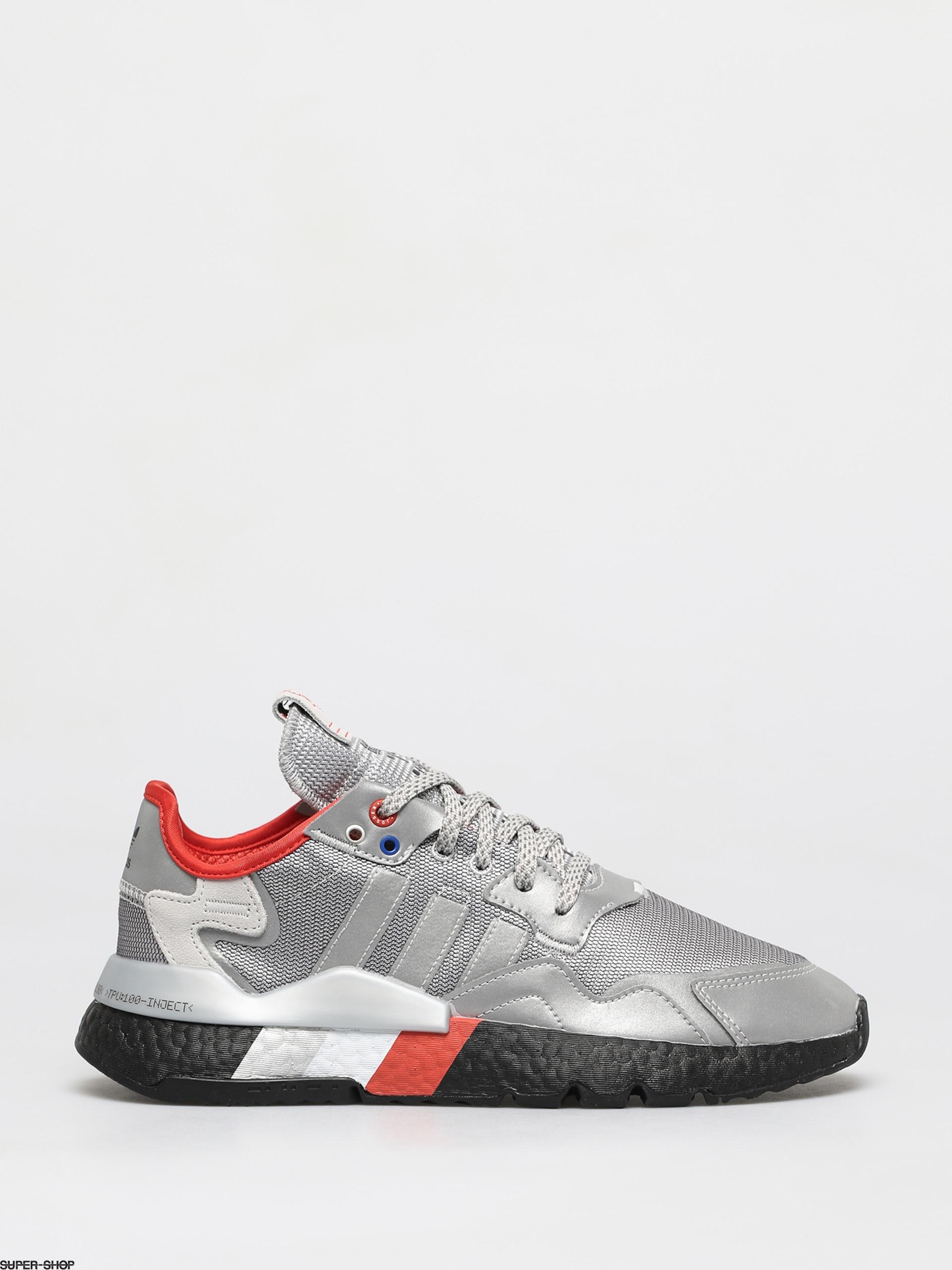 Riparatore strato Ruggito  adidas Originals Nite Jogger Shoes (silver met/silver met/core black)