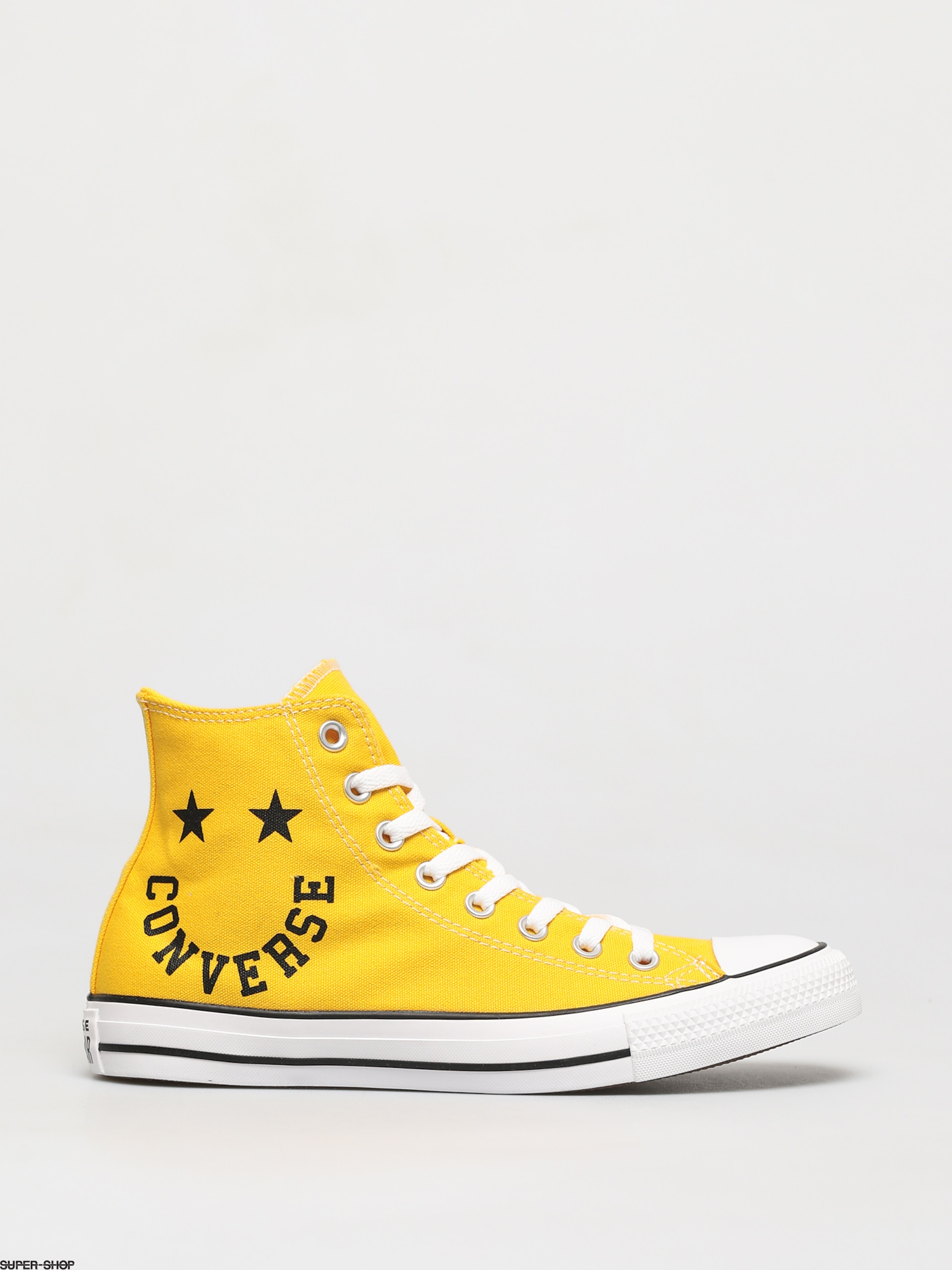 Star Smile Hi Chucks (banana yellow