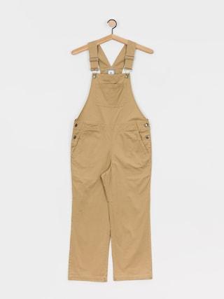 Element Good Dayz Overall Pants Wmn (desert khaki)