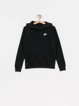 Nike Sportswear Essential HD Hoodie Wmn (black/white)