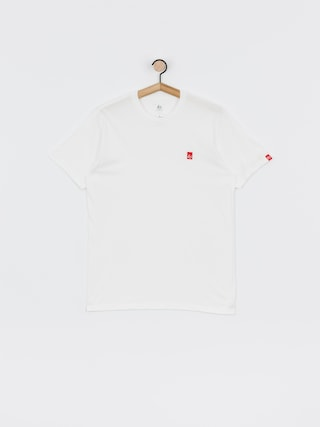 eS Main Block Emb T-shirt (white)