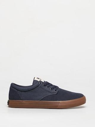 Supra Chino Shoes (navy/bone gum)