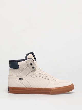 Supra Vaider Shoes (bone/navy gum)