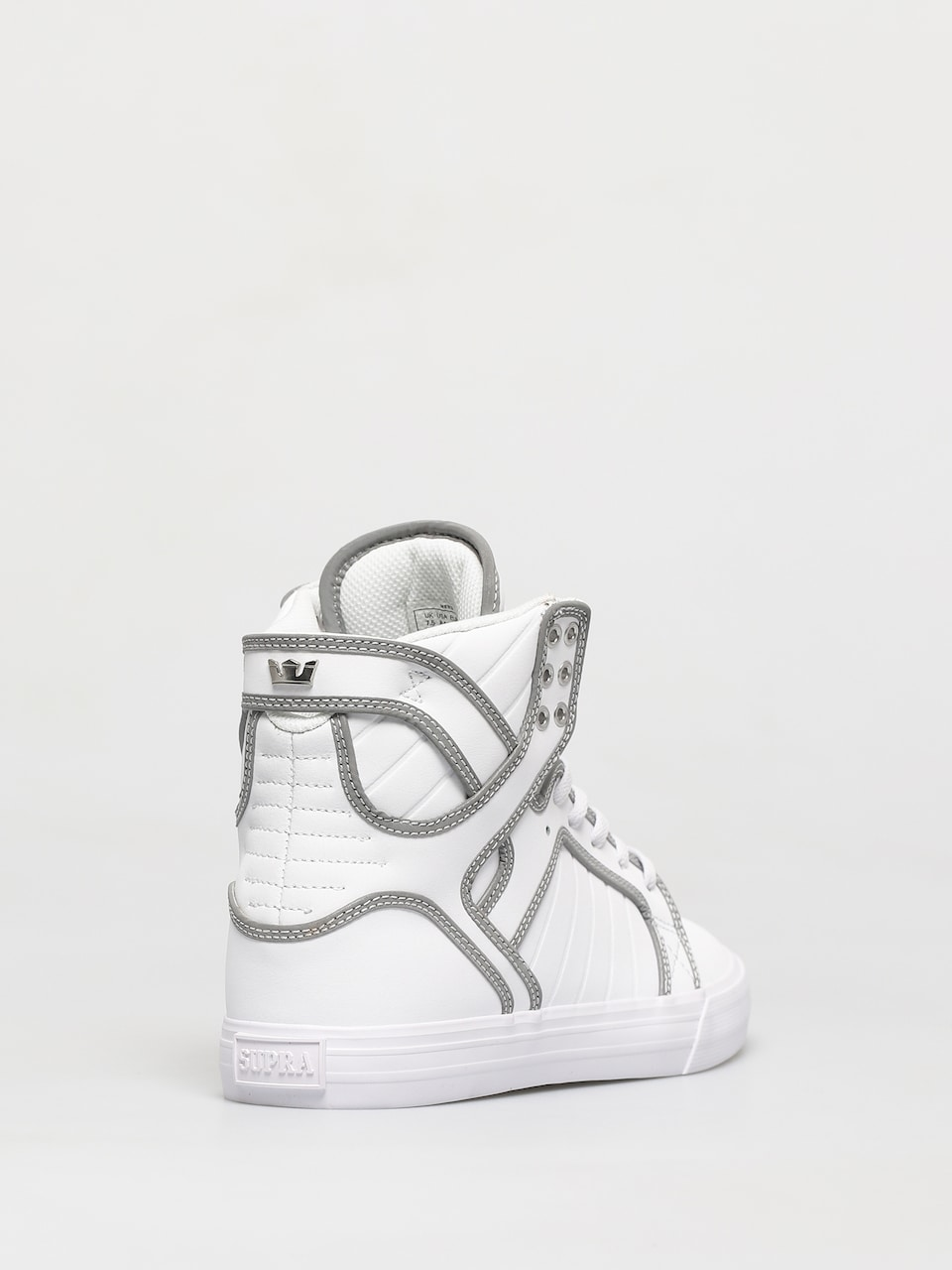Supra Skytop Shoes (whitereflect white)